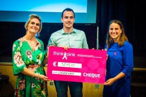 Tweede editie Lingerieweek sluit succesvol af met mooi som voor Think Pink België !